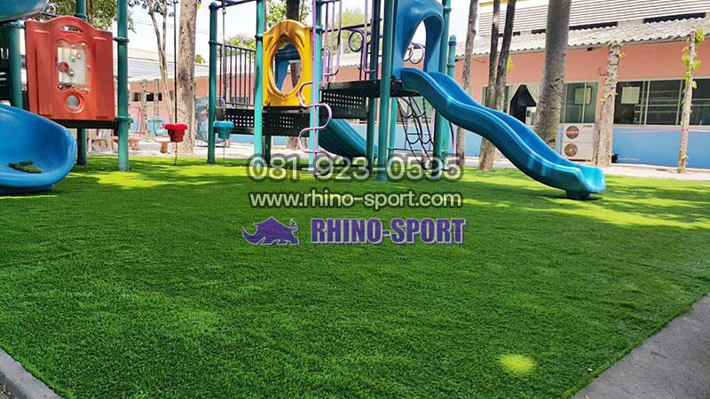 พื้นสนามเด็กเล่น Playground | Rhino Sport รับทำพื้นสนาม